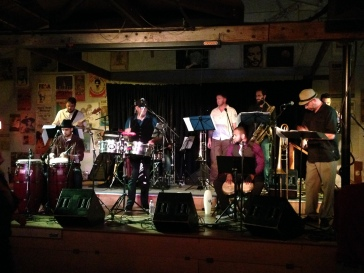 Performance at Ashkenaz featuring members of the Afro-Cuban Jazz Cartel